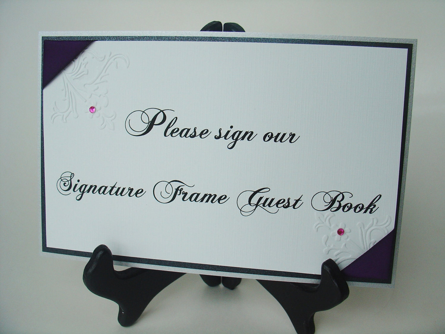 guestbook sign wording please help i am not creative