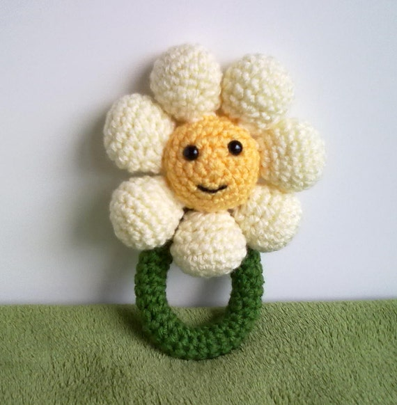 Daisy Rattle Crochet Pattern