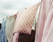 Washday Pinks. 8 x 12 vintage laundry film photograph - suziechaney