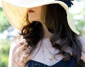 Wide brim straw sun hat - alatete