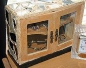Mosaic Twine Cabinet