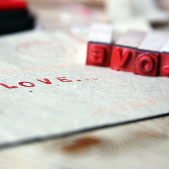 stamped love letter photograph