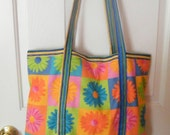 Large Daisy Tote