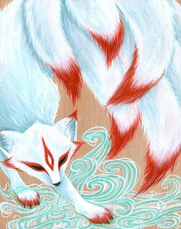Kitsune on Pinterest | Fox Tattoos, Foxes and Nine D'urso