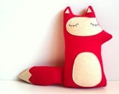 SUMMER SALE - Liam - The Sleepy Woodland Fox - Made to order by sleepy king - sleepyking