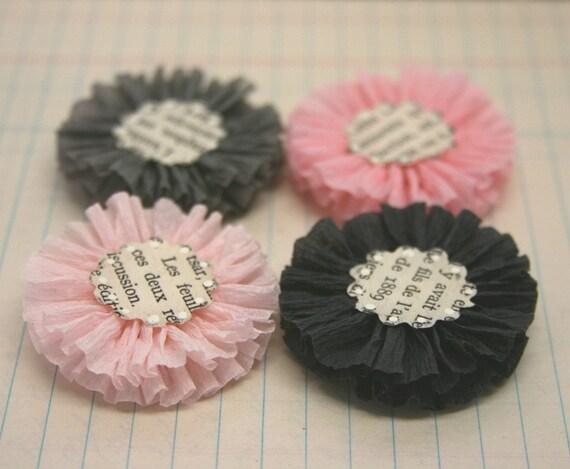 Цветы ручной работы из