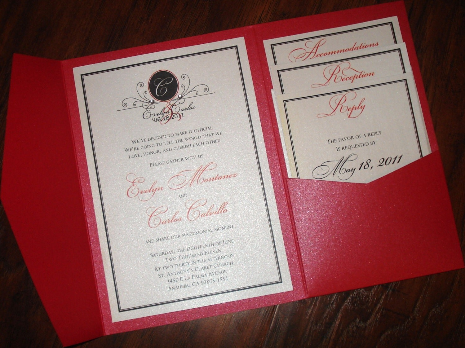 wedding invitation pockets - Nuruf.comunicaasl.com