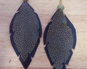 Terra Earrings (faux leather)