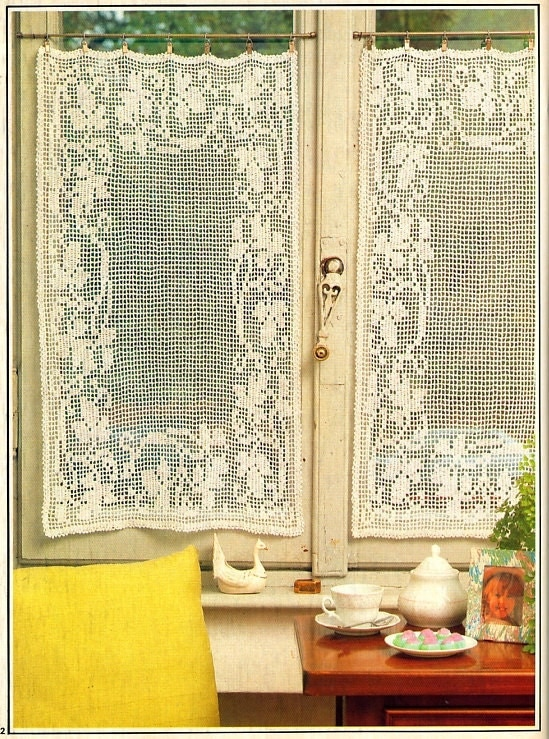 Crochet Curtains Patterns - Pattern Collections