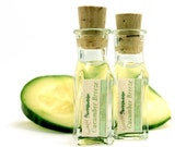 Cucumber Breeze Organic Facial Toner Natural Water eco-friendly vegan SAMPLE - herbolution