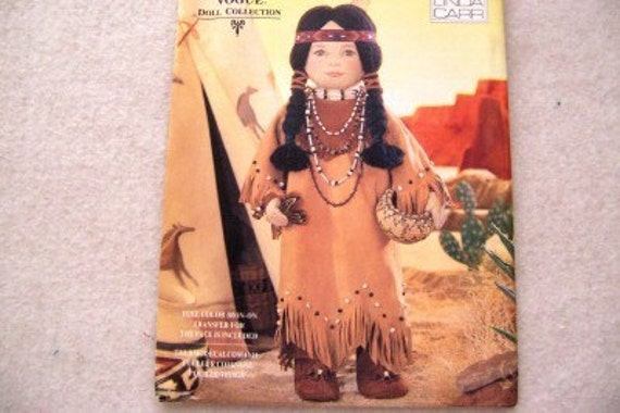 AMERICAN INDIAN SQUAW SEWING PATTERN McCALLS M4891 | eBay