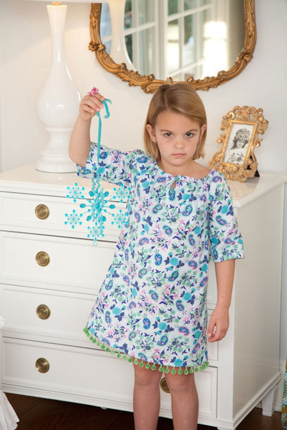 Girls Peasant Top or Peasant Dress Pattern - Sis Boom Leighanna PDF E-Book