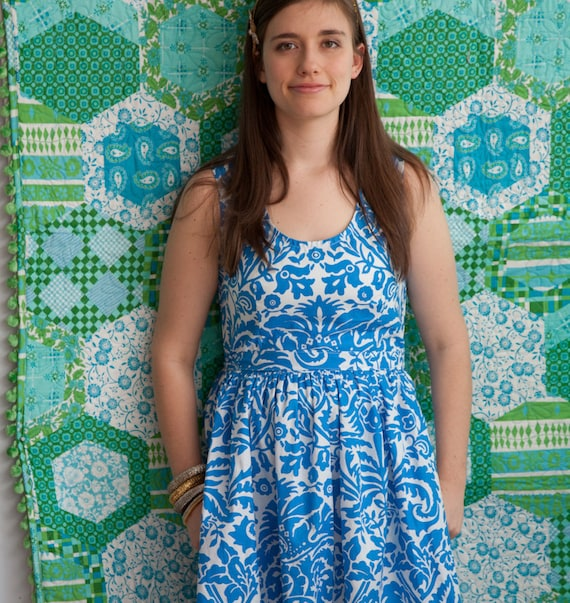Easy Womens Dress Pattern - Sis Boom Angie Dress, PDF E-Book