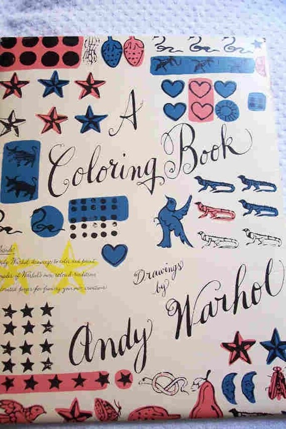 A Coloring Book: Drawings Andy Warhol