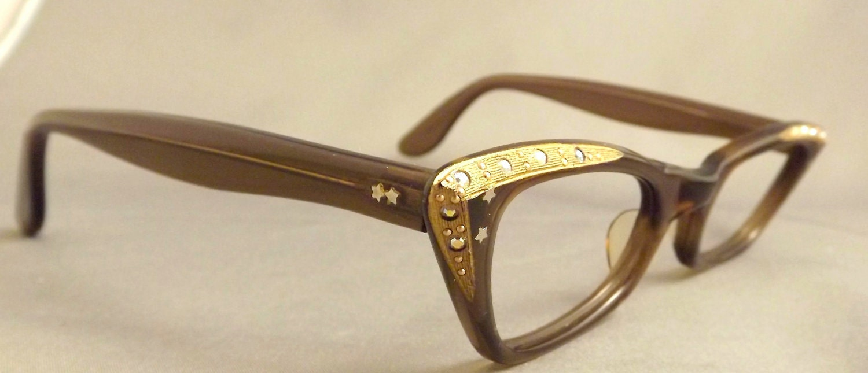 6abe44fc8b Rhinestone Prescription Eyeglass Frames