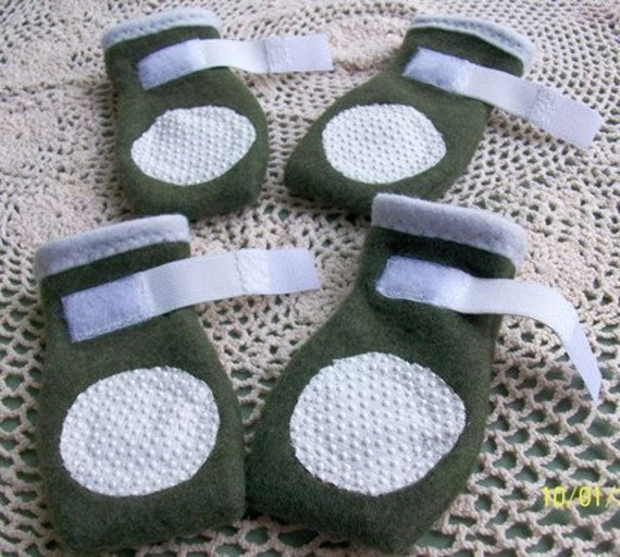 Make Your Own Dog Booties! | UberPest's Journal