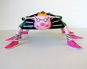 Bug Papier Mache Sculpture Eugene Bug - BigHairyBugs