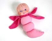 clearance / Light Up BEDDIE BUDDIES Brite Eyes Doll 80s in Original Box - OopseeDaisies
