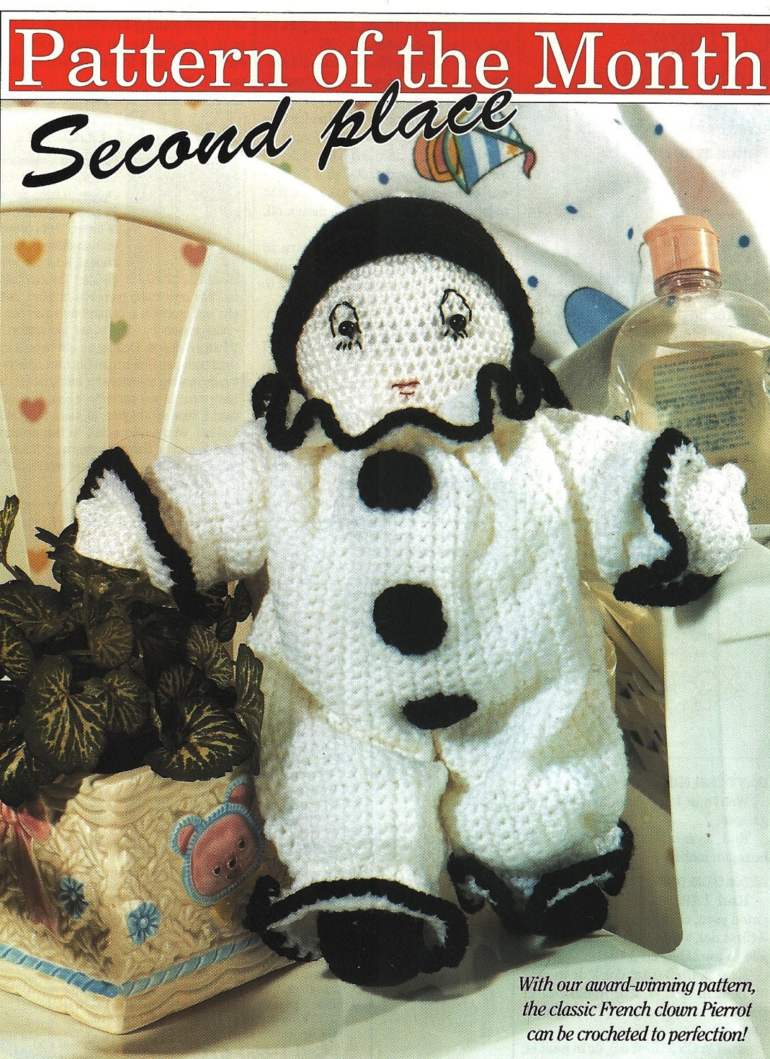 French Clowns http://www.etsy.com/listing/77632771/x152-crochet-pattern-only-classic-french