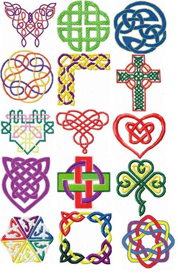 Celtic Knots I Embroidery Designs - Novelty - Design Collections