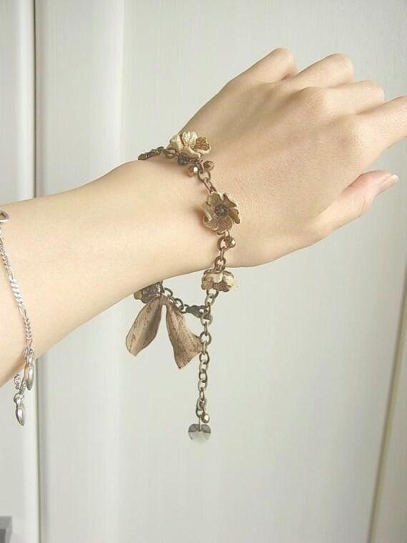 хана браслет - античная бронза