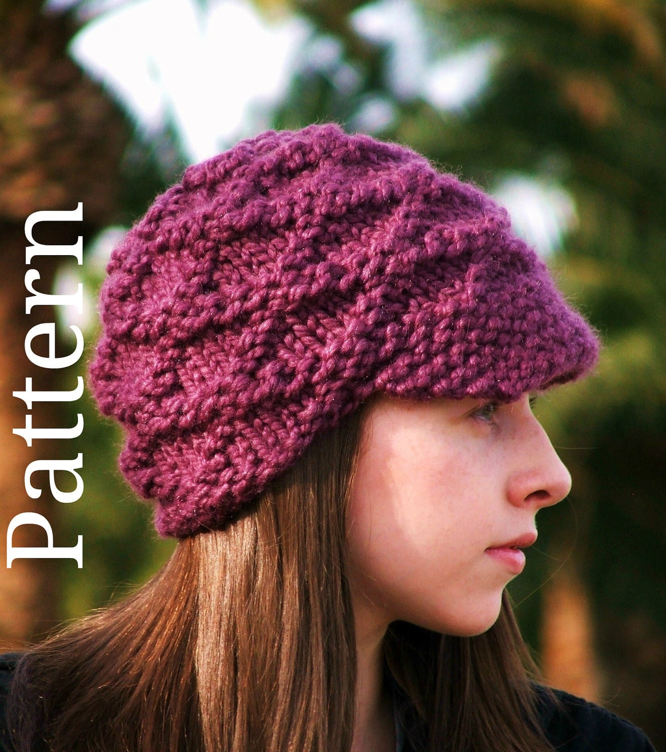 Pdf knitting pattern hat pattern clothes pattern teen clothing knit hat hat ...
