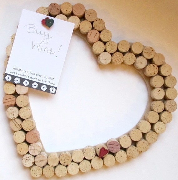 Things Made With Corks: Five Things Friday: Wine Cork Ideas