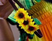 Golden Sunflower Headband