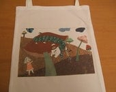Alice-in-Wonderland  library  book-bag