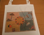 Sun  library  book bag