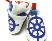 Nautical booties - BugabootiesBoutique