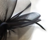 Black-Halloween-Crinoline-Headband-Party-Soft-Headpiece-Wedding-Fall-Autumn - EllaGajewskaHATS