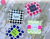 Personalized Monogrammed Key Chain-Design Your Own