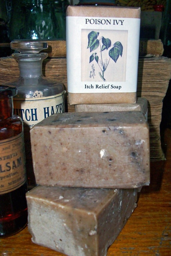 POISON IVY Itch RELIEF Soap Best On The Market