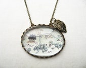Hundred Acre Wood Map Necklace - fairytalesbybluebird