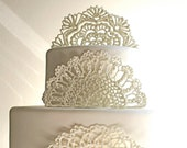Sugar Doilies, Sugar Lace, Edible Cake Embellishments/Decorations 3 - andiespecialtysweets