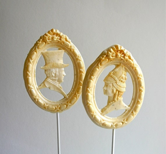 Mr Darcy lollipops