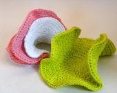 Happy Hyperbolic Dishcloths