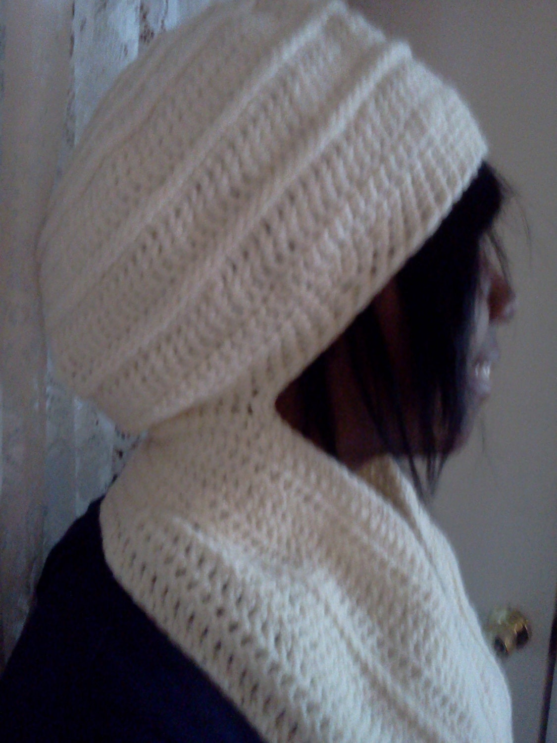 Knitting Pattern For Hat With Scarf Attached : 3400 Crochet Scarves & Hats By King Cole