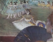La Danseuse Au Bouquet by Degas Art Plate Suitable for Framing
