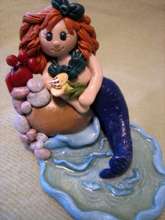 Polymer Clay Mermaid