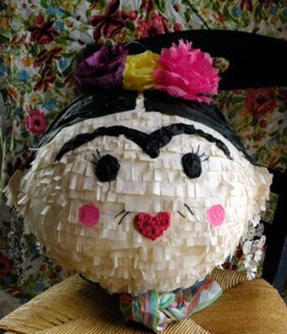 Fiesta Frida Pinata- Made to Order