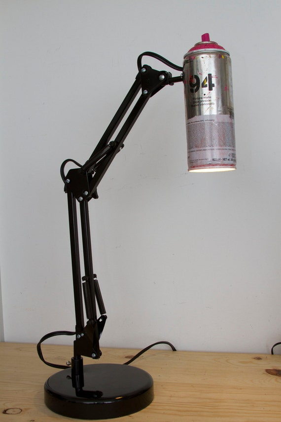 Spray Paint Swivel Arm Architect  Lamp