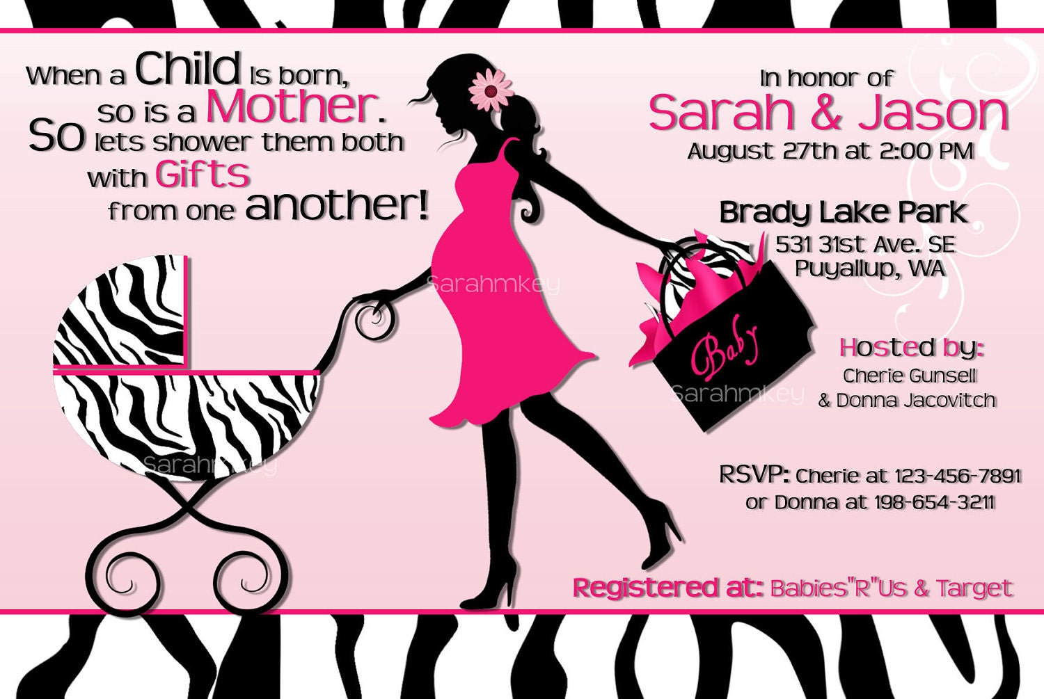 images about baby shower ideas/wardrobe/themes on, Baby shower invitations