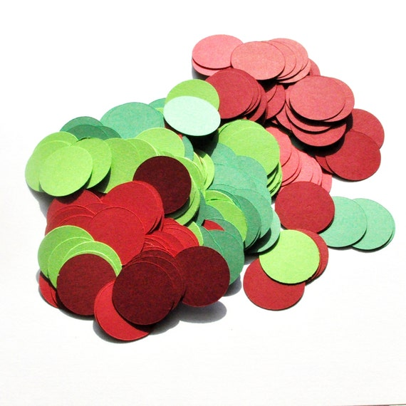 Party Confetti - Theme Party Decoration - Christmas  - Festive Holiday