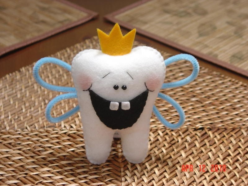 Tooth Fairy Pillow Pal Pattern by simplysweetgifts on Etsy