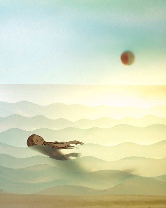 Solo - print by Elly MacKay