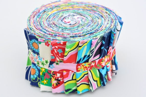 Lark by Amy Butler COMPLETE 24 Piece Quilter's Fabric Roll