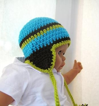 EAR FLAP HAT CROCHET PATTERN Free Patterns