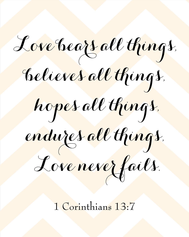 1 Corinthians 137 7 Deeper Meanings Pinterest